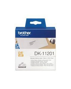 Nastro Etichette Brother 29x90 (400pz) dk-11201 per ql-500