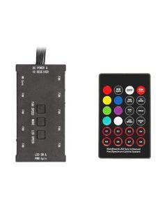 Hub per ventole e strisce LED Argb Itek (3 pin --> fino a 6 ventole/strisce)