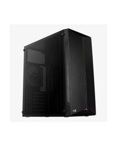 Cabinet atx Aerocool SPLIT rgb usb 3.0 (no alimentatore) lat. trasp. 1x ventola