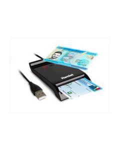 Lettore smart card Usb Contactless NFC per Carta Identità Elettronica Hamlet