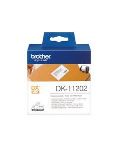 Nastro Etichette Brother 62x100 (300pz) dk-11202 per ql-500