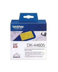 Nastro Etichette Brother 62mmx30,48m dk-44605 giallo