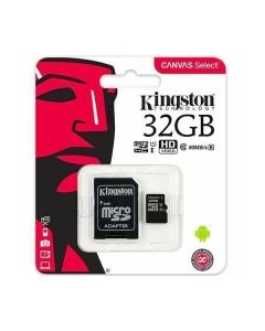 Memoria micro sd 32gb Kingston sdc10g2/32gb