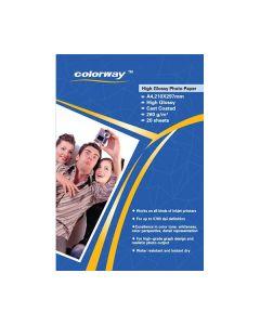 Carta fotografica Glossy Paper A4 -180gm (50FOGLI)