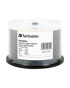 Dvd-r Printable Verbatim 4,7gb AZO DataLifePlus printable no ID 50pz 43744 (siae inclusa)