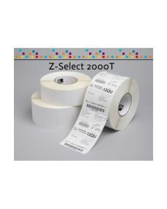 Nastro Etichette Zebra 70mmx32m (8400pz) Z-Select 2000T cod. 3007205-T