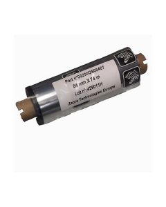 Nastro inchiostrato per stampante termica Zebra Ribbon 2300 84 mm x 74 m (12pz) cod. 02300GS08407