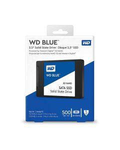 """Hard disk SSD sata 2,5"""" 500gb Western Digital blue WDS500G2B0A 530w/560r"""
