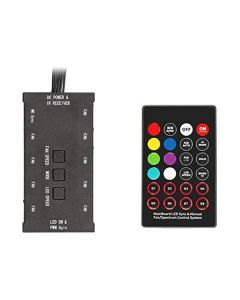 Hub per ventole e strisce LED rgb Itek ARYA (3 pin --> fino a 9 ventole/strisce)