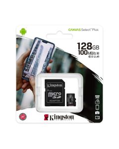 Memoria micro sd 128gb kingston mod.SDCS2/128GB 100r/85w