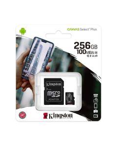 Memoria micro sd 256gb kingston Canvas Select Plus mod. SDCS2/256GB 100r/85w
