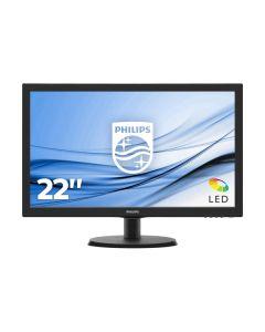 """Monitor 23,6"""" 16/9 Philips 243V5QHABA (vga, dvi-d, hdmi, audio)"""