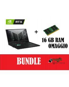 Bundle Asus  FX516PM-HN002T |24 gb + RTX 3060|