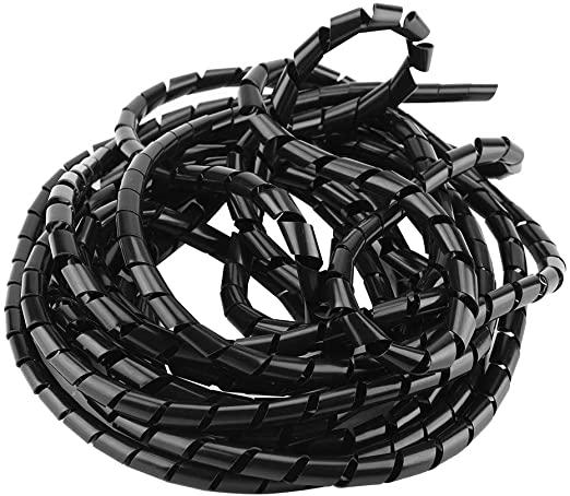 Spiralina raccoglicavi e fissaggio